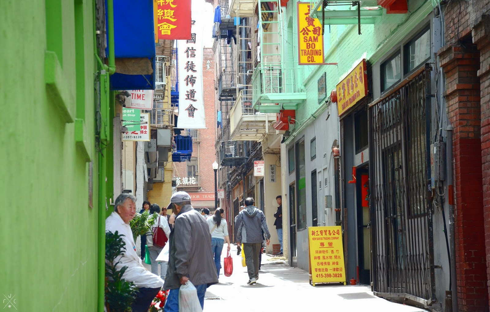 Chinatown, San Francisco, California, USA
