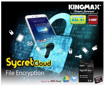 KINGMAX Sycret Text and Sycret Cloud