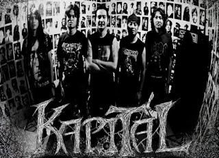 Kapital Band Metalcore Tenggarong Kalimantan barat Cover Logo Wallpaper foto
