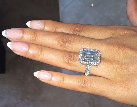 PoshTheSocialite Battle Of The Diamond Ring Kim Kardashian Tamar