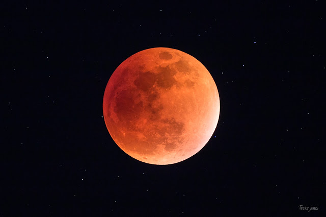 Super Blood Moon Eclipse of 2015 - Trevor Jones