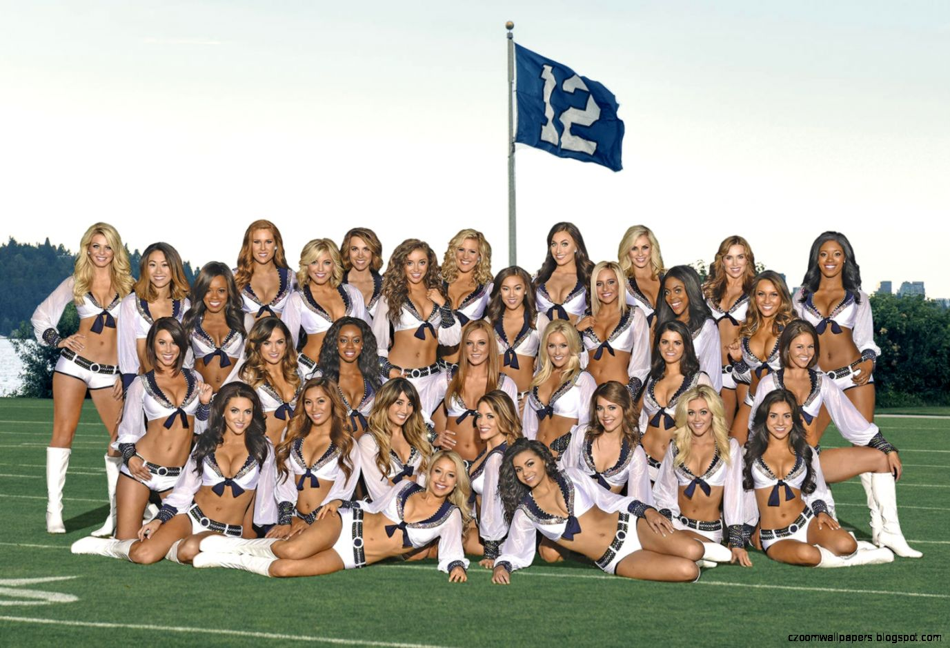 Sea Gals Roster  Seattle Seahawks