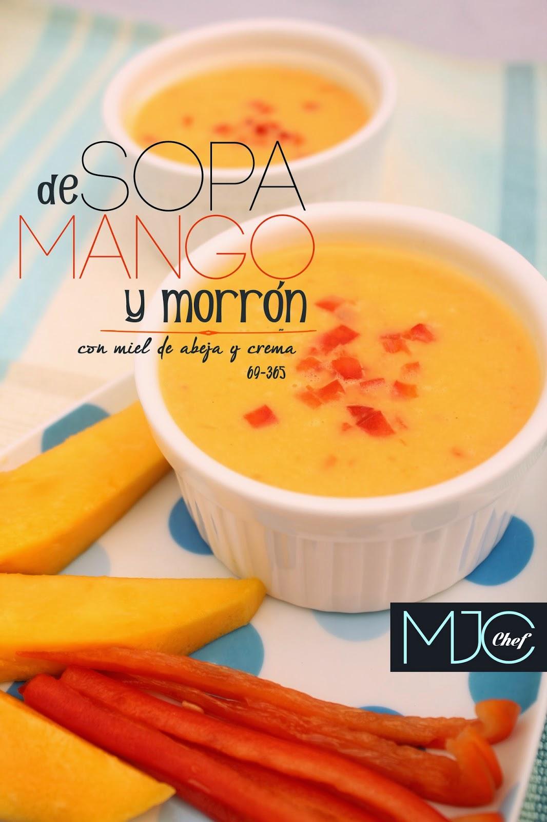 Sopa de mango