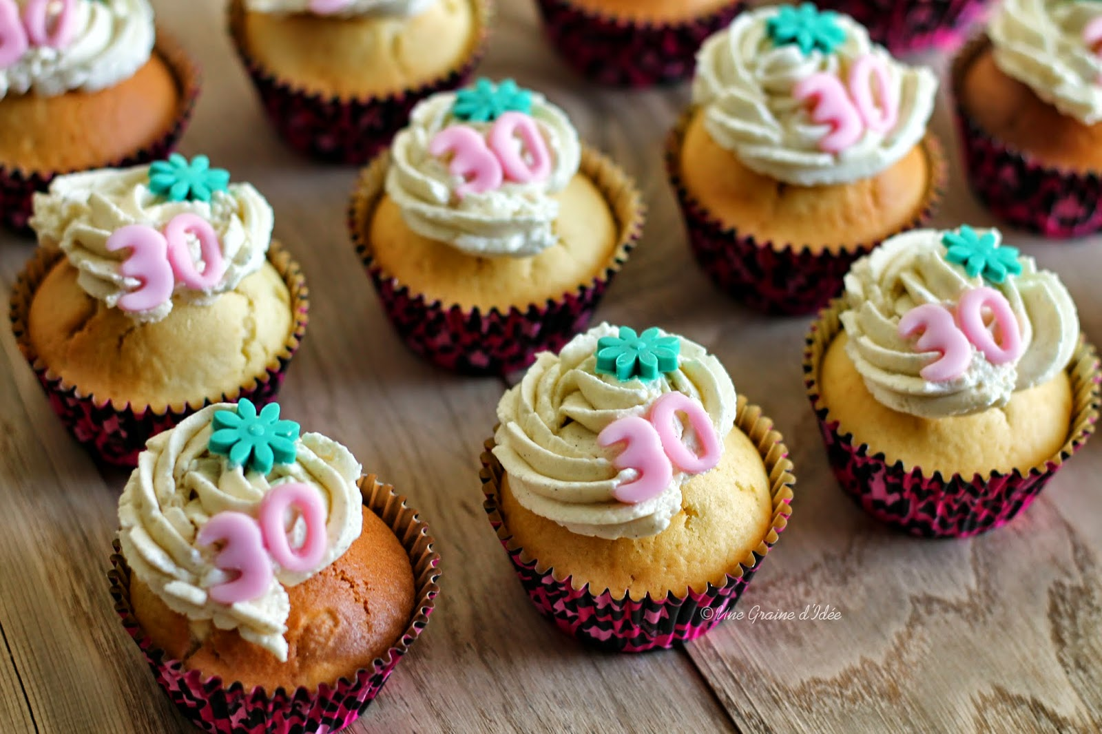 Cupcake Madeleine Nutella Anniversaire Une Graine d'Idée