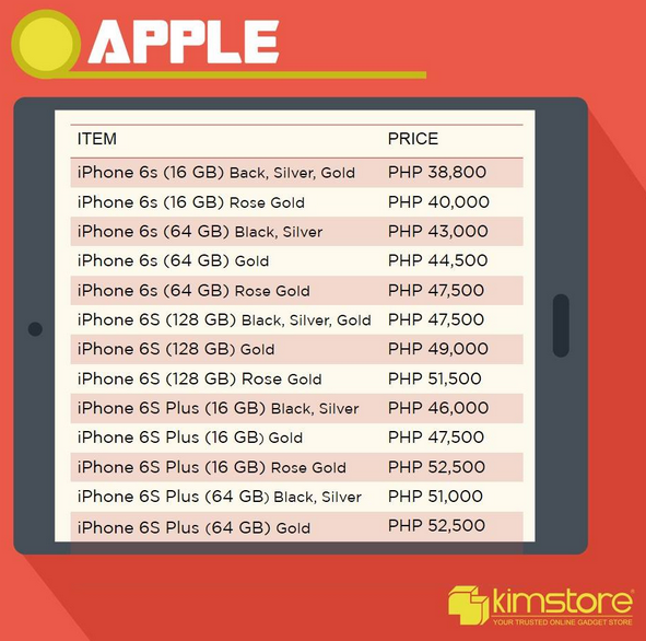 Apple iPhone 6S Kimstore, Apple iPhone 6S Plus Kimstore