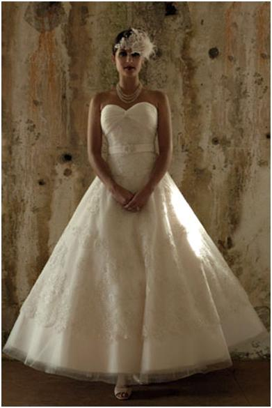 Strapless vintage wedding dresses This design is usually made for more