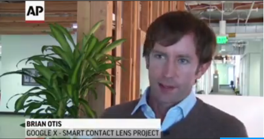Wearable Contact Lenses from Google