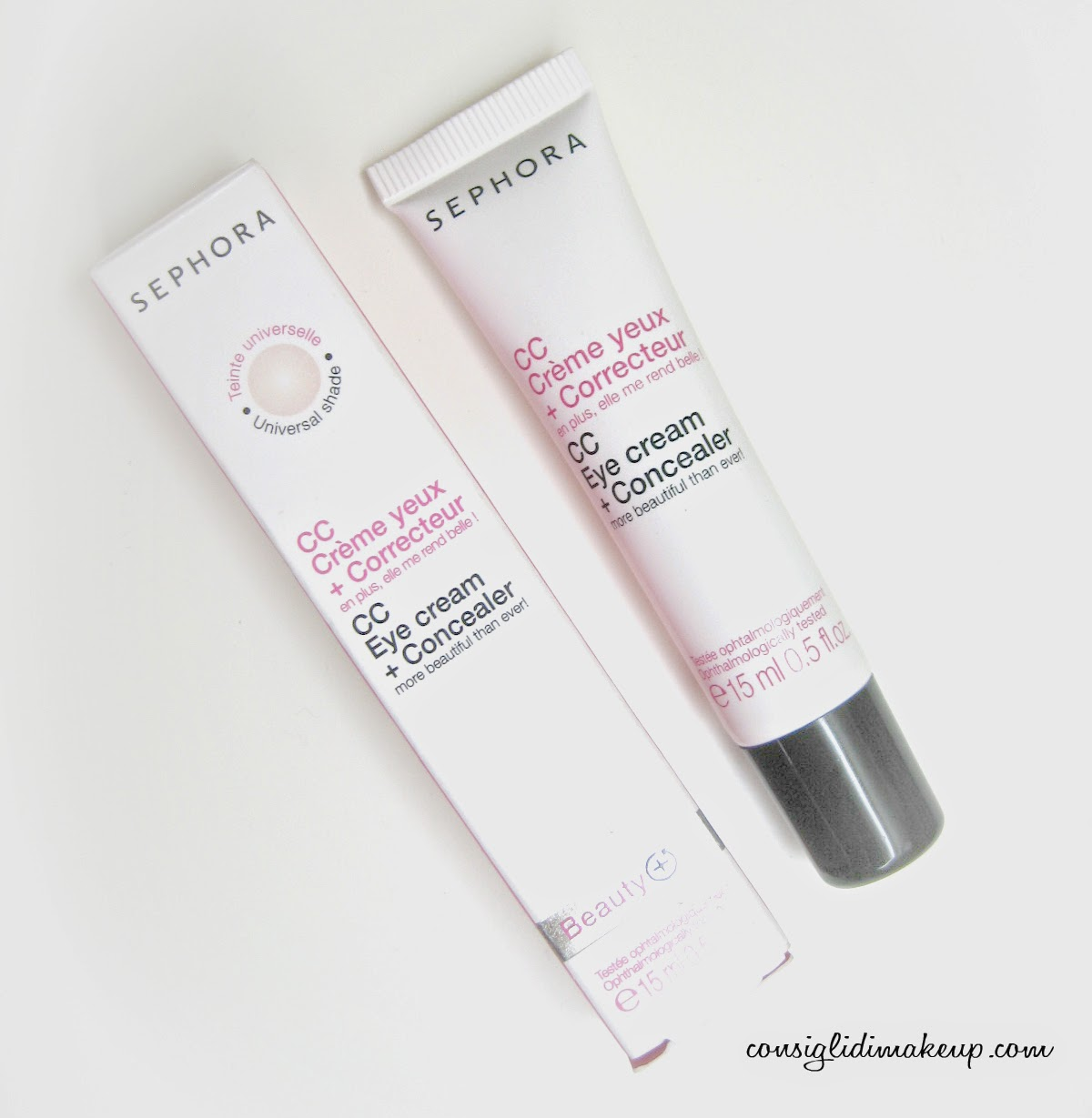 cc eye cream concealer