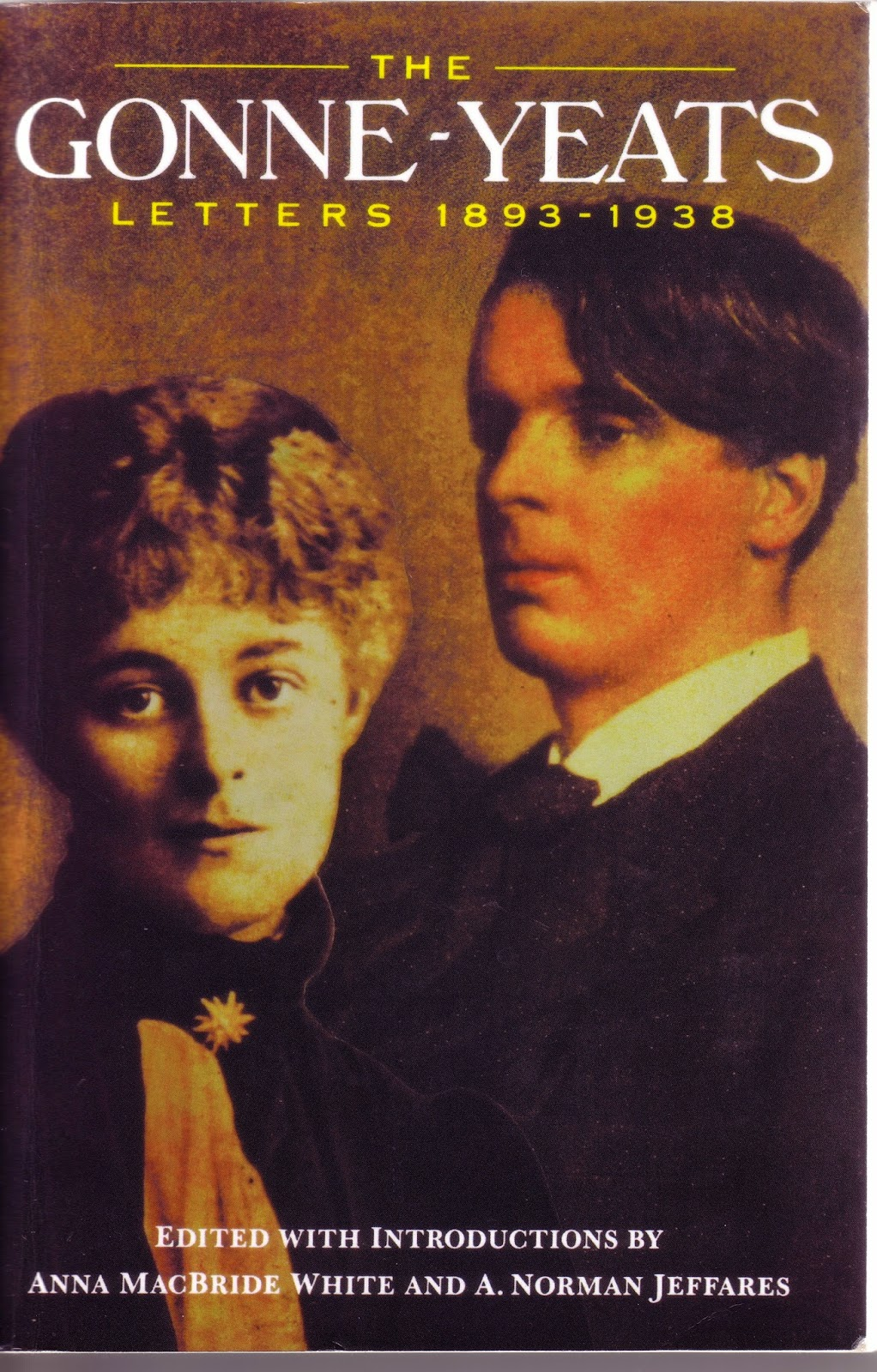 cover of The Gonne-Yeats Letters