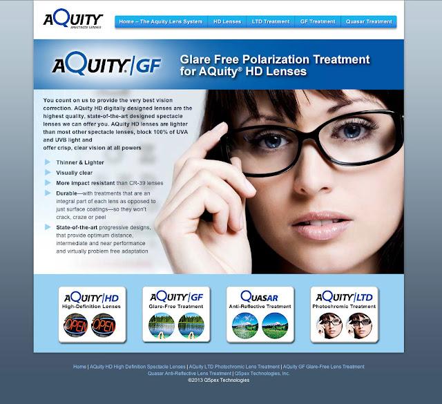 AQuity HD Web stie