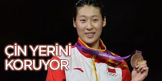 31 Temmuz 2012 Londra Olimpiyatları Madalya Sıralaması 31.07.2012