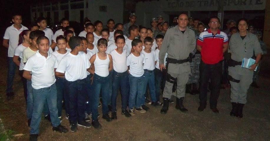 POLÍCIA MIRIM DE JUSSARA COMEMOROU 5 ANOS DE CRIAÇÃO OFICIAL
