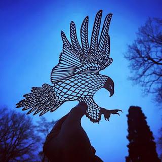 Paper Handcraft Eagle