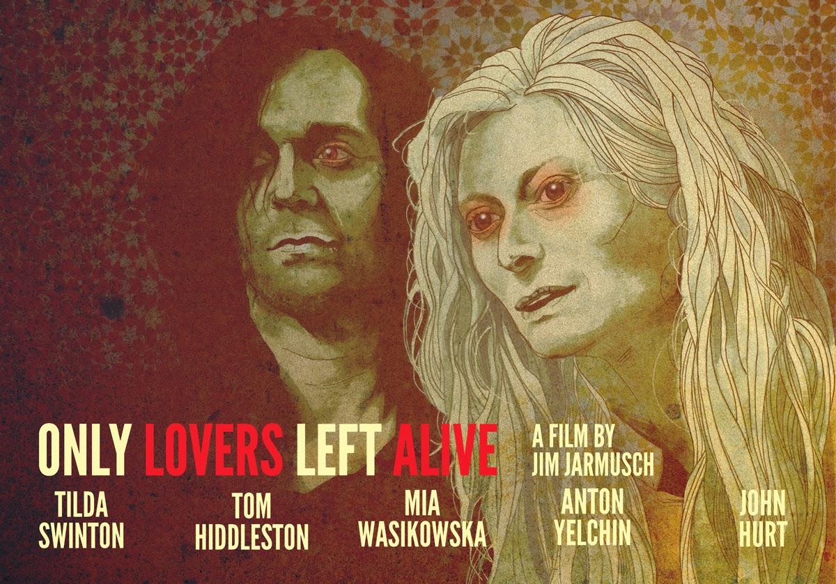 Film Poster Tom Hiddleston Tilda Swinton