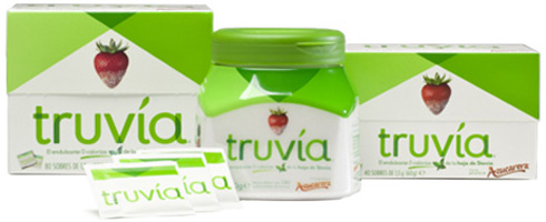 Truvía endulzante sin calorías con Stevia