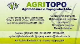 AGRITOPO Agrimensura e Topografia ltda