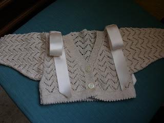 bolero mujer hecho a mano de crochet
