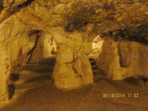 Underground cavern and passageways of underground city of Darinkuyu, Cappadocia