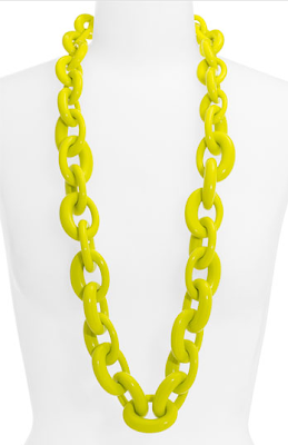Tory Burch, Tory Burch Oval Link Necklace, link necklace, fashion, jewelry, trend-spotting