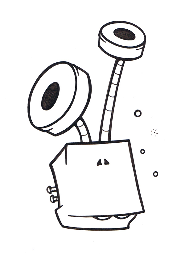 Daily doodle doodle 189 for Doodle characters
