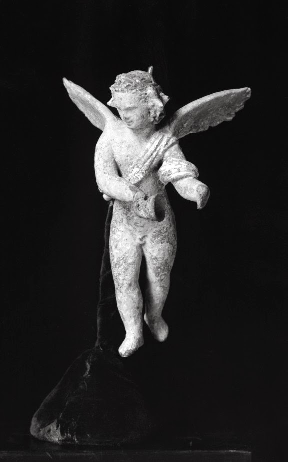 Winged Hypnos Greek terracotta figure, 4th-3rd century BC The Walters Art Museum