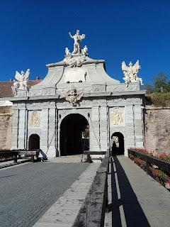 Citadel Alba Carolina-Gate III - drawbridge