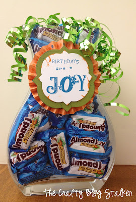 Birthday Candy Jar Gift