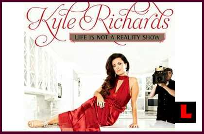 Kyle Richards Life Is Not A Reality Show Book Signing