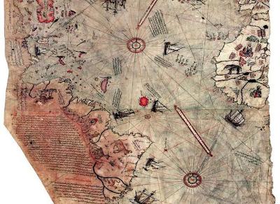 .+Piri+Reis+Map 10 Penemuan Benda Prasejarah yang Masih Jadi Misteri Sejagat Raya