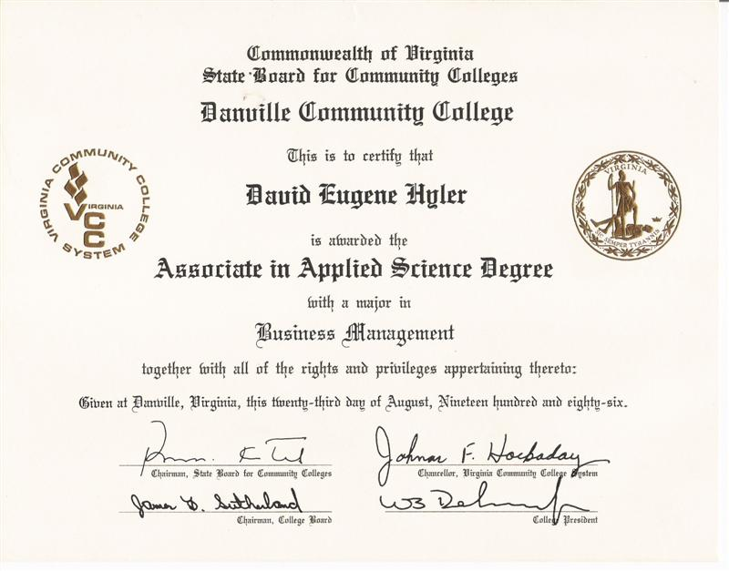 What are the significant differences between associates degrees, and associates in applied science degrees?
