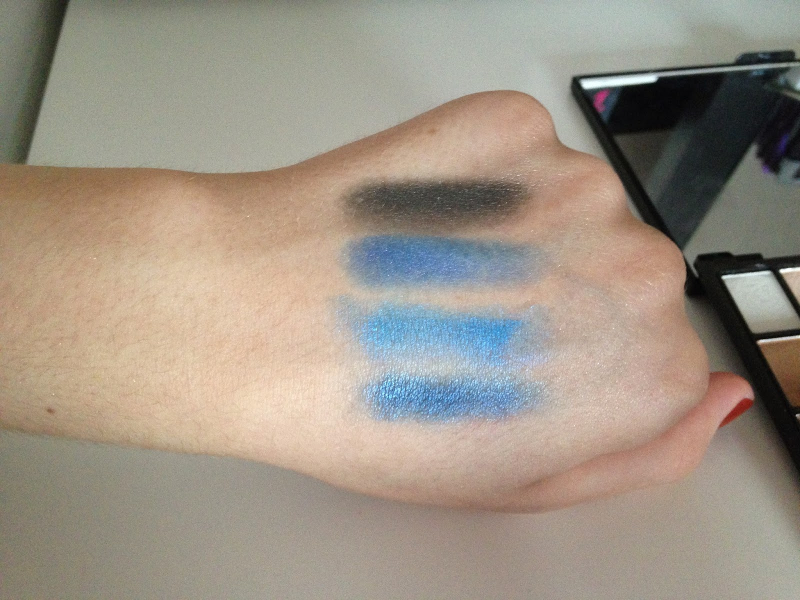 Explicit Content Palette I ♥ Makeup Swatch