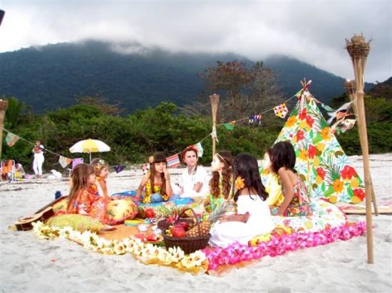 decoracao festa luau:15 Anos : Festa Luau ?? Bora lá ?