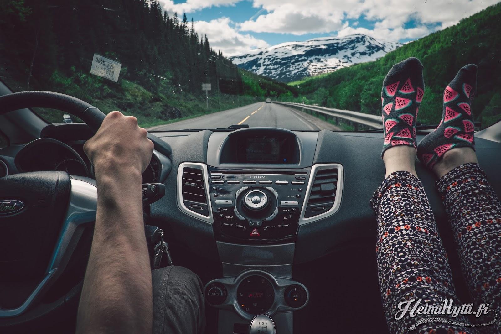 id norja roadtrip matkustus autolla vinkkejä