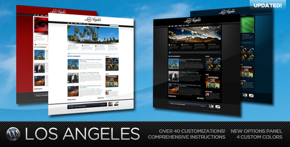 Image for Los Angeles – Premium Theme by ThemeForest