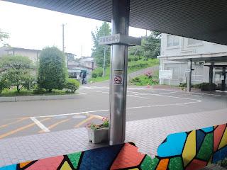 写真:病院の正面玄関