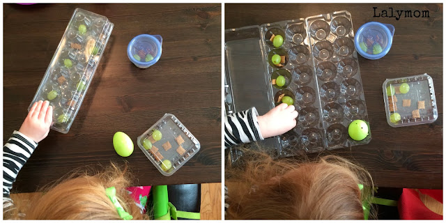 Fine Motor Skills- Finger Strength and Pincer Grasp Practice- Snack Hunt Activity for Kids from Lalymom