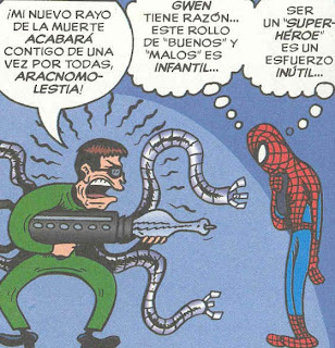 spiderman dudando