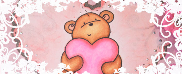 Bärige Grüße Zum Valentinstag