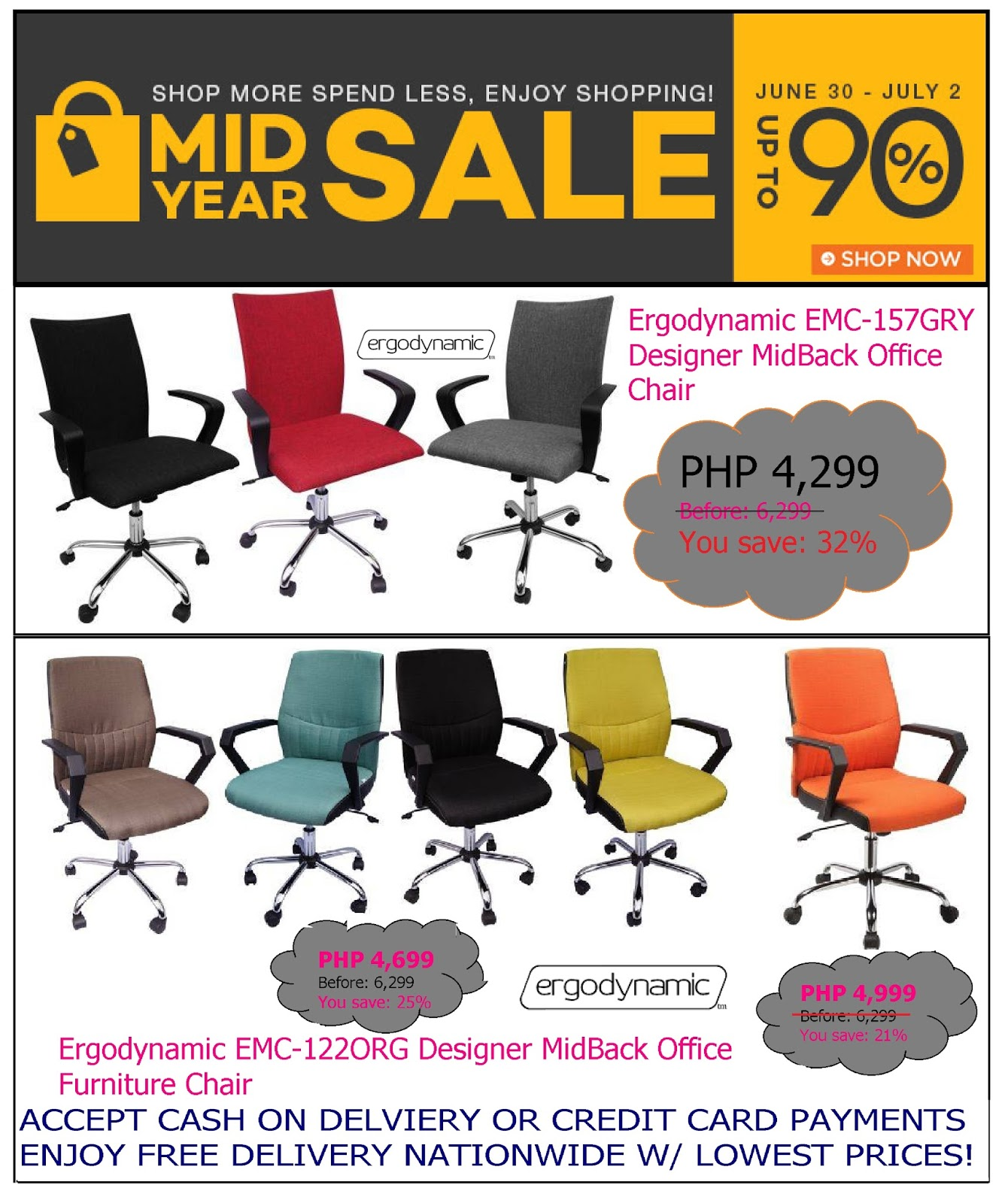 Office Furniture Office Chair Mid Year Sale On Lazada