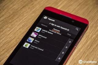 Tapatalk 2 Untuk OS Blackberry 10 Sudah Tersedia