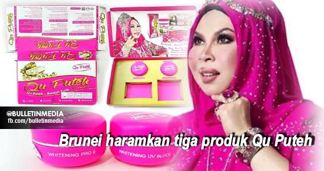 Brunei haramkan tiga produk Qu Puteh, Apa RESPOND Dato Vida.....?