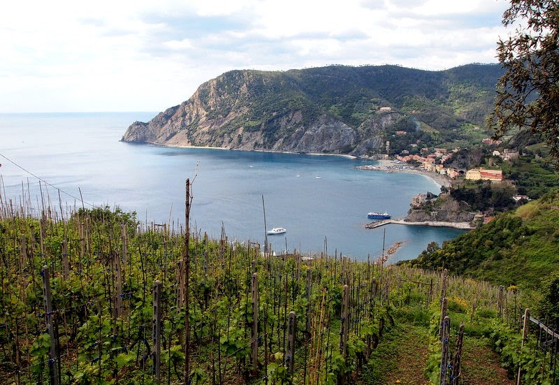 Looking back towards Monterosso al Mare
