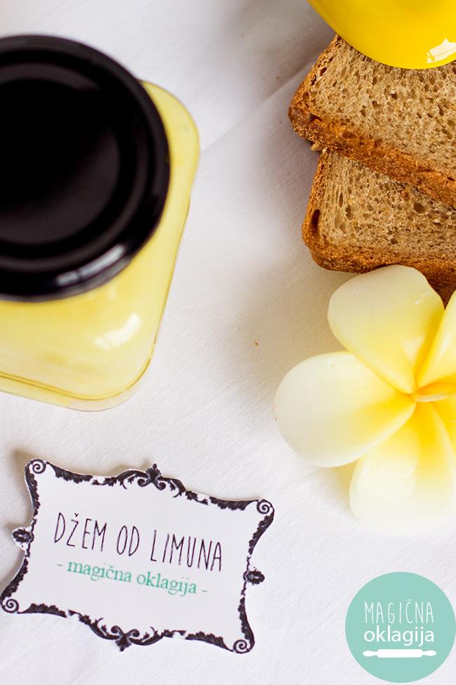 Domaći džem od limuna - Magična Oklagija