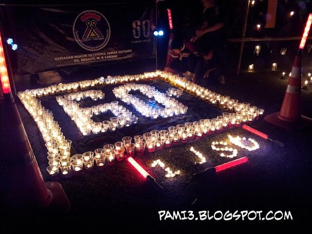 Earth Hour 2012 Labuan