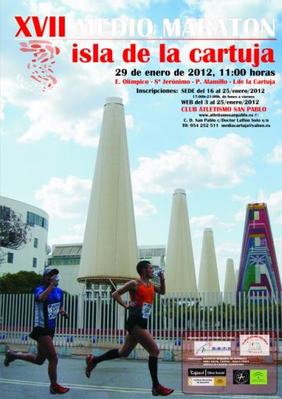 Club atletismo viso media marat n isla de la cartuja - Isla de la cartuja ...