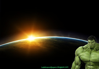 The Incredible Hulk Desktop Wallpaper Hulk waiting at the corner at Space Eclipse Desktop wallpaper
