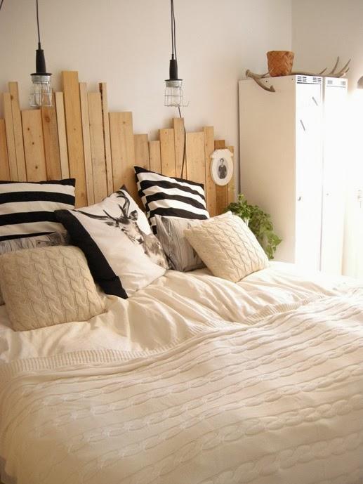 Cabeceros reciclados - Cabeceros cama caseros ...