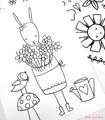 Zinnie's Garden Coloring Book - Snag a Free Coloring Page!