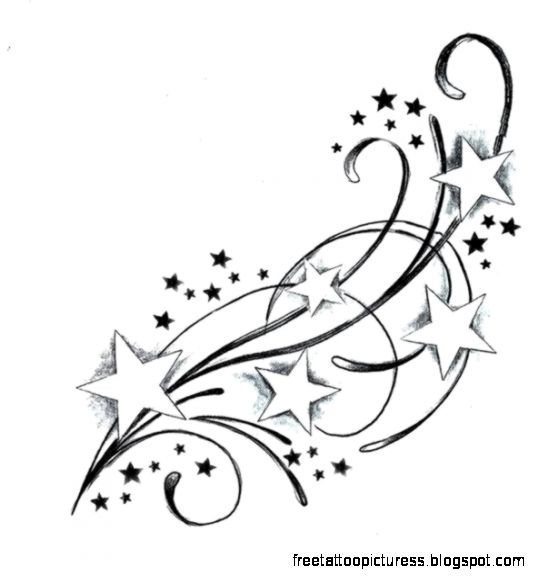 Star Tattoos on Pinterest  Aztec Tattoo Designs Grey Ink Tattoos