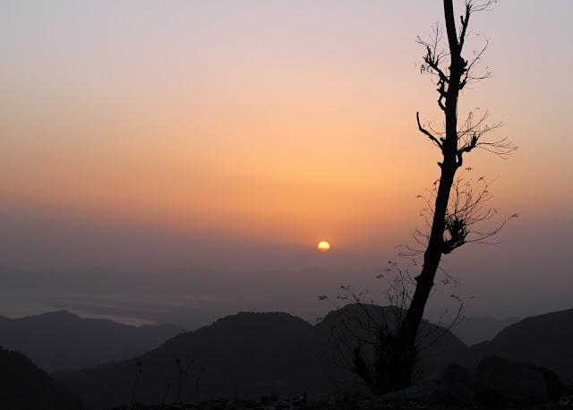 Dalhousie, Silhouette, Mountain, Himalayas